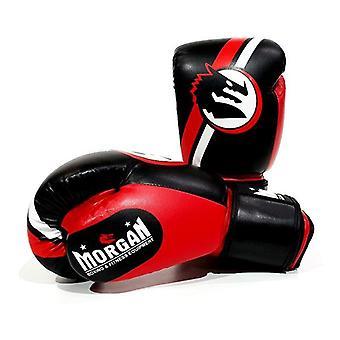 Morgan V2 Classic Boxning Handskar Röd Svart