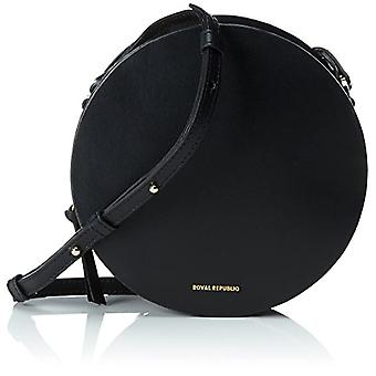 Royal RepubliQ Galax Round Evening Bag Women Black Shoulder Bags (Black) 5x16x16 cm (B x H x T)