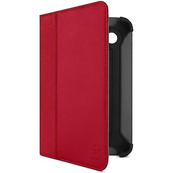 Belkin Cinema F8M388CWC02 Leather Folio (suitable for Samsung Galaxy Tab 17.8 cm (7 inches)) red