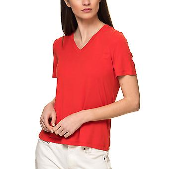 Only Women's Venus Modal V-Neck Short Sleeve T-Shirt