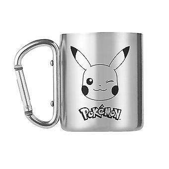 Pokémon, Mug with Carabiner - Pikachu