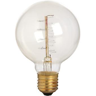 Hill Interiors Edison Fillament Round Globe Bulb