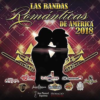 Various Artist - Bandas Romanticas De America 2018 [CD] USA import