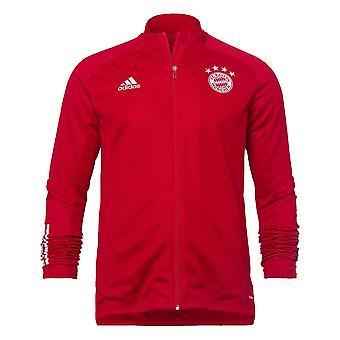 2020-2021 Bayern Munich Adidas Training Jacket (Red)