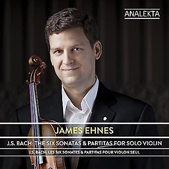 J.S. Bach: Six Sonatas & Partitas For Solo Violin [CD] USA import