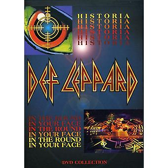 Def Leppard - Historia/in the Round in Your [DVD] USA import