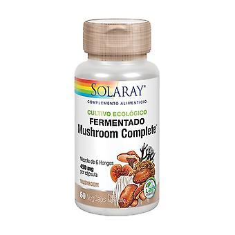 Fermenteret champignon Komplet 60 vegetabilske kapsler af 450mg