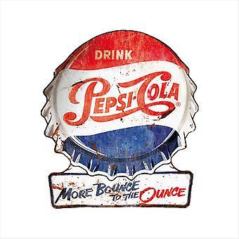 Pepsi Cola Più Rimbalzo per l'oncia uomini's felpa con cappuccio