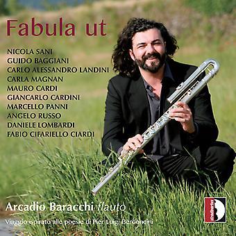 Various Artist - Fabula Ut Viaggio Ispirato Alle Poesie [CD] USA import