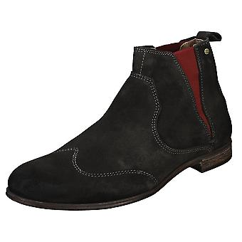 Sneaky Steve Humble Mens Chelsea Boots in Grey