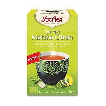 Lemon matcha green tea 17 infusion bags