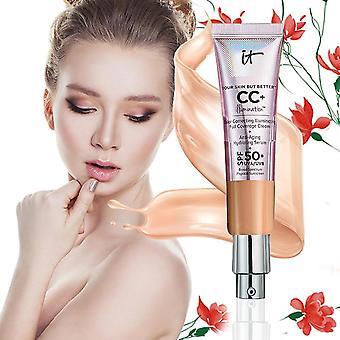 Long Lasting Isolation Moisturizing Whitening Cosmetics - Face Base Liquid Foundation For Make Up