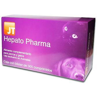 JTPharma Kosttilskudd For Hunder Og Katter Hepato Pharma 300 Tabletter