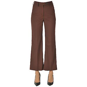 I.c.f. Ezgl456017 Women's Red Polyester Pants
