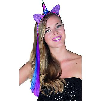 Licorne paillette Cheveux licornes