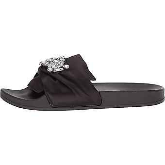 Kenneth Cole Reaction Womens Pool Jewel Fabric Open Toe Special Occasion Slid...