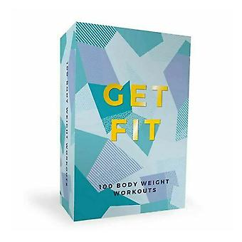 100 Get Fit Exercises Cards