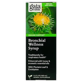 Gaia Herbs, Bronchial Wellness Syrup, 5.4 fl oz (160 ml)