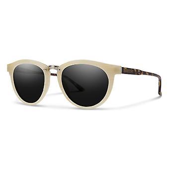 Sonnenbrille Unisex Questa    elfenbein weiß/dunkelbraun/grau