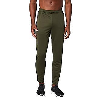 Peak Velocity Men's Trackster Athletic-Fit Pant, forest green/asphalt grey, M...
