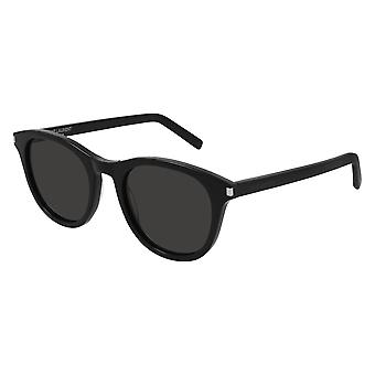 Saint Laurent SL 401 001 Black/Grey Sunglasses