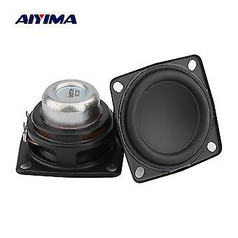 Aiyima 2-pcs 2-inch Full-range Audio-speaker, Unit 53mm 4 Ohm 20w Hifi Stereo