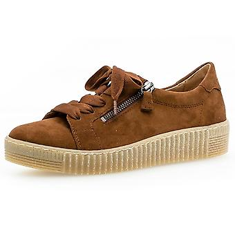 Gabor Wisdom Casual Shoe In Whisky