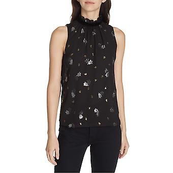 Rebecca Taylor | Scattered Tulip High-Neck Top