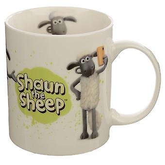 Collectable Porcelain Mug - Shaun the Sheep White X 1 Pack