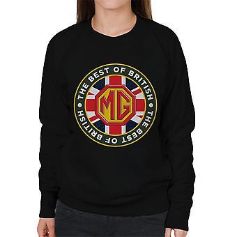 MG British Motor Heritagen parhaat naiset's collegepaita