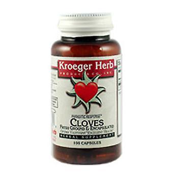 Kroeger Herb Cloves, 100 Cap