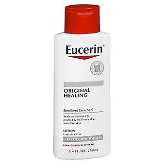 Loção hidratante original de eucerina para pele seca e sensível, 8,4 oz