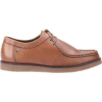 هش الجراء ويل Wallabee الرجال أحذية جلدية تان