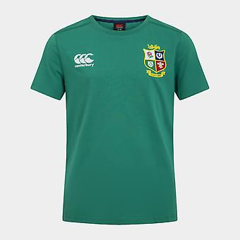Canterbury britiske og irske Lions T Shirt Junior Boys