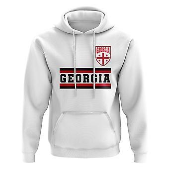 Georgia Core Jalkapallo Maa Huppari (Valkoinen)