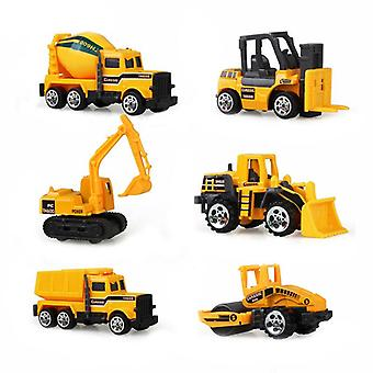 Big Truck & Mini Alloy Diecast Car Model, 1:64 Scale Toys Vehicles Carrier