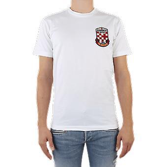 Dsquared2 T-Shirt Vit S74GD0722100 Topp