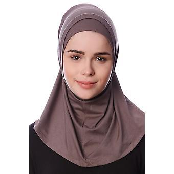 Nehir - Cáqui 2-Piece Al Amira Hijab