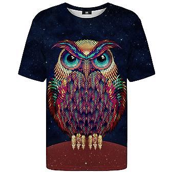 Herr Gugu Miss Go Space Eule T-shirt