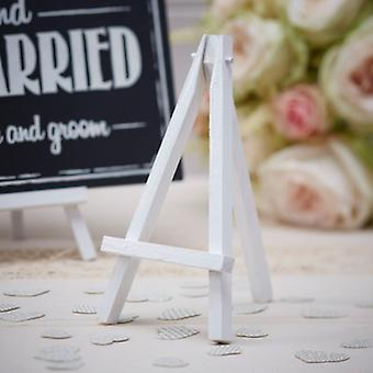 Een Vintage affaire - Mini schildersezels - bruiloft partij teken staat x 3