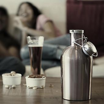 Growler 2 Go Flask
