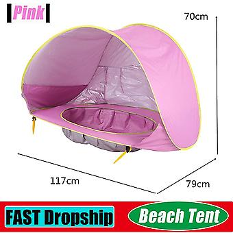 Baby Beach Tent Waterproof Pop Up Sun Awning Tent Uv-protecting Sunshelter With