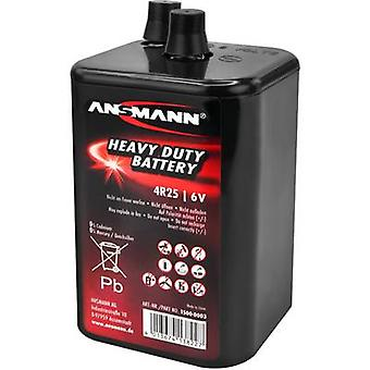 Ansmann 4R25 Non-standard battery 4R25 Coil spring contact Zinc carbon 6 V 9000 mAh 1 pc(s)