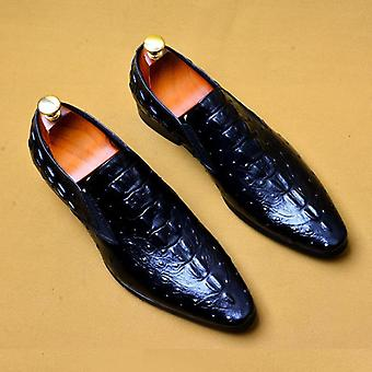 Men's Genuine Leather Oxford Luxury Dress Chaussures