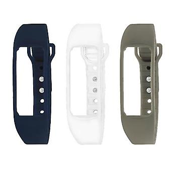 Sector watch smart fit d0120354 - kit 3 pu strap  (black-white-grey)