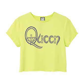 Amplified Queen Royal Logo Kvinnor's Crop Top