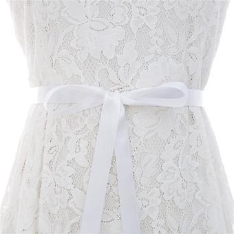 Crystal Bridal Sash Rhinestones Pearls Wedding Belt