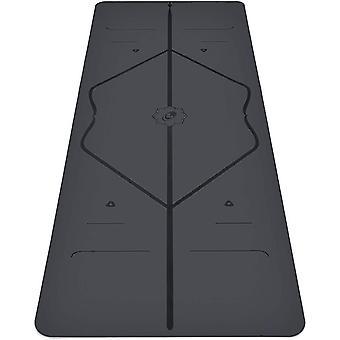 Liforme Original Yoga Mat & Patented Alignment System, Warrior-like Grip