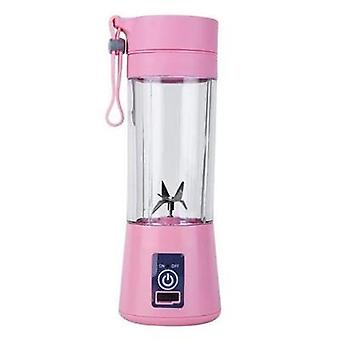 Portable Blender, Usb Mixer, Electric Juicer Machine, Smoothie, Mini Food