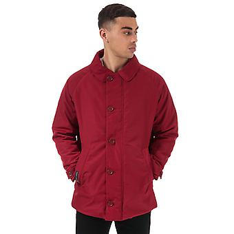 Men's Henri Lloyd Traditional Consort Oxford Jacket in Red